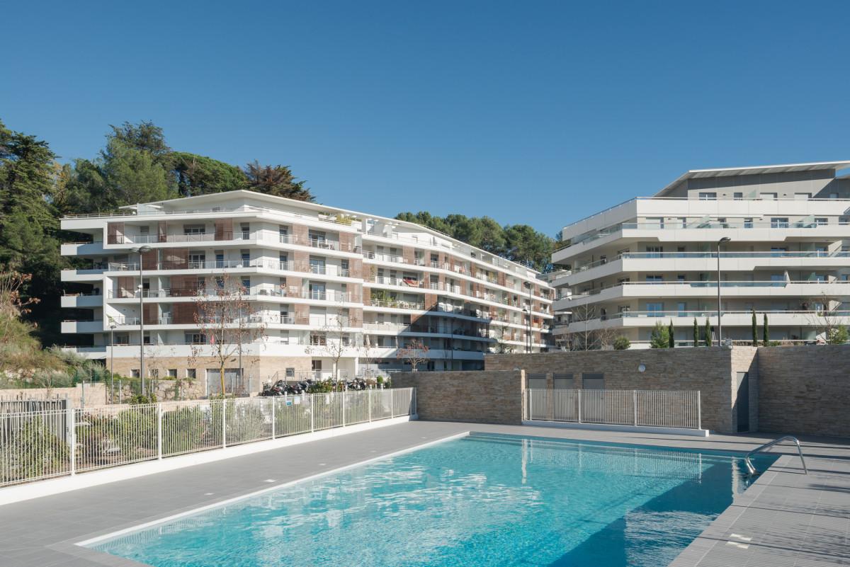 Immo pop appartement neuf type 3 de 59 m piscine - Piscine coubertin cannes la bocca ...