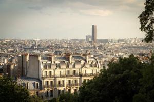 Agence immobilière Paris 14ème arrondissement, vue sur les toits