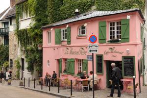 Agence immobilière Paris 18ème arrondissement, restaurant