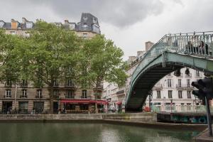 Agence immobilière Paris 10ème, canal Saint Martin