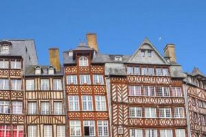 Maisons médiévales à colombages Rennes