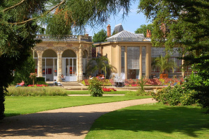 Orangerie du parc Thabor à Rennes