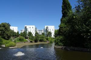 Jardin d'Almaty à Rennes