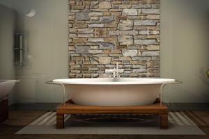 Photo d'une jolie salle de bain.  Agence immobilière La Valette-du-Var par Immo-pop.
