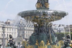 Place de la concorde dans le 8 ème arrondissement de Paris