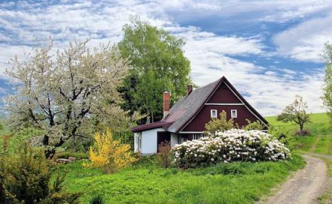 Petite maison à la campagne. Pourquoi vendre ou acheter en viager ?