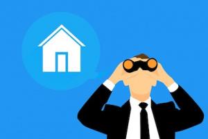 Image représentant un agent immobilier recherchant un bien pour son client. Mandat de recherche immobilier par Immo-pop