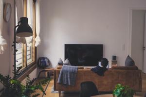 Vue intérieure d'un appartement. Promesse de vente entre particuliers