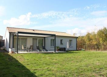 Maison plain pied Type 5 de 99 m² à Beychac et Caillau