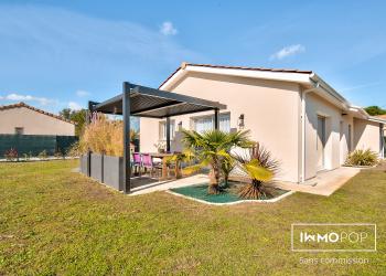 Maison plain pied Type 4 de 90 m² + garage à Arsac