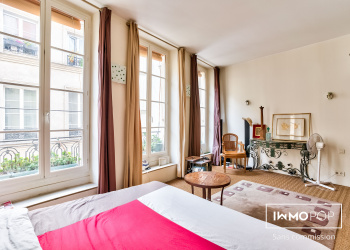 Appartement duplex Type 3 de 83 m² à Paris 3ème