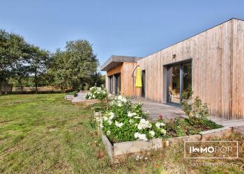 Maison récente plain pied Type 5 de 141 m²  + piscine à Vielle-St-Girons
