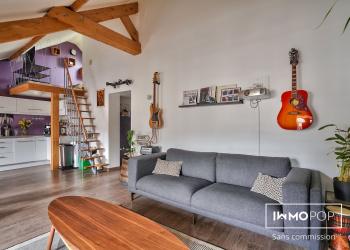Appartement T2 bis de 69 m² (au sol), 49 m² (carrez) + cave à St-Germain-en-Laye