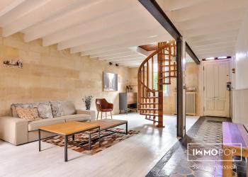 Maison - Echoppe Arcachonnaise Type 5 de 125 m² à Bègles
