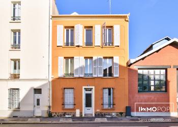 Appartement Type 3 de 50 m² + cave et cour partagée - Bas Montreuil