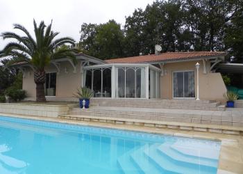 Maison contemporaine de 170 m² + sous-sol de 110 m² à Agen Foulayronnes