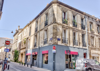 Immeuble de 205 m², un local commercial + 3 appartements au coeur de Bordeaux