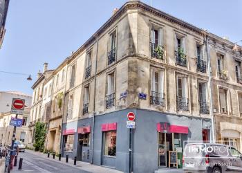 Immeuble de 205 m², un local commercial + 3 appartements au coeur de Bordeaux