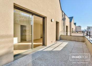 Appartement duplex  neuf Type 4 de 80 m² + parking à Bordeaux