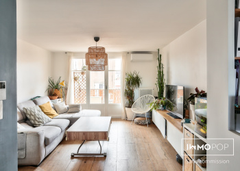 Appartement Type 3 de 70 m²+ cave à Marseille 10ème