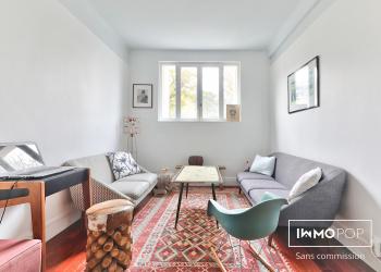 Appartement Type 3 bis de 62 m² (carrez) 76 m² au sol + cave à Boulogne Billancourt
