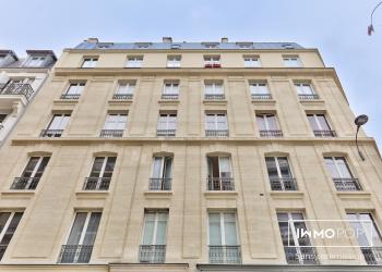 Appartement meublé Type 2 à louer de 39 m² + cave à Paris 12ème