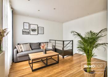 Appartement duplex T3 de 69 m² (65 carrez) - Bas Montreuil