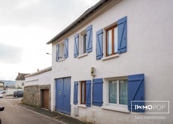 Charmante maison Type 6 de 130 m² avec garage + grange à Mantes-la-Ville