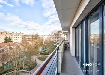 Appartement Type 4 de 92 m² + 2 parkings + cave à Issy-les-Moulineaux