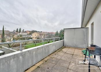 Appartement Type 2 de 51 m² + terrasse + parking à Toulouse