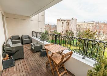 Quartier Haussmanien - 3 pièces de 71 m² + terrasse