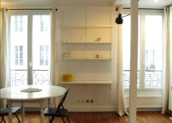 Appartement Type 2 meublé de 35 m² à Paris 17ème