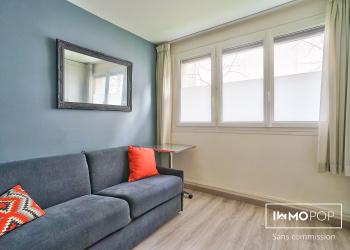 Appartement Type 1 meublé de 13 m² + cave à Paris 11 ème