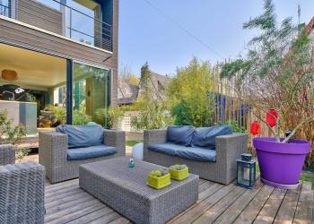 Maison contemporaine 5 pièces 155m² + dépendance 2 pièces 36 m²