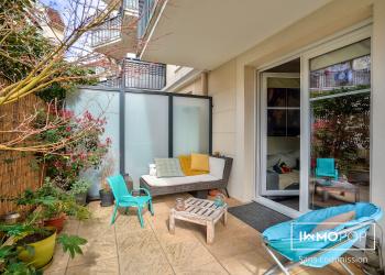 Appartement F3 de 60 m² + terrasse 35m²+ parking à Villiers-sur-Marne