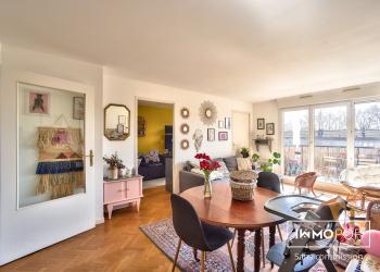 Appartement 4 pièces de 76 m² + 2 places parking à Argenteuil
