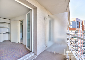 2 studios de 17 m² avec balcons à Courbevoie