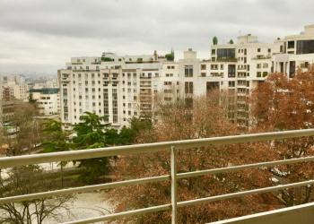 studio de 17 m² avec balcons à Courbevoie