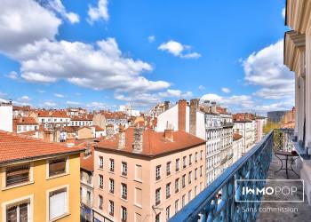 Appartement Type 3 bis de 80 m² + balcon à Lyon 7ème