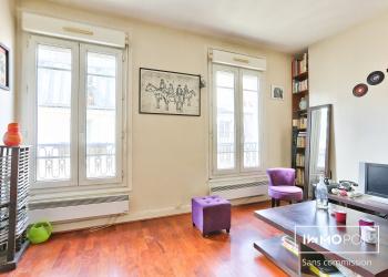 Appartement Type 1 de 23 m² à Paris 10 ème