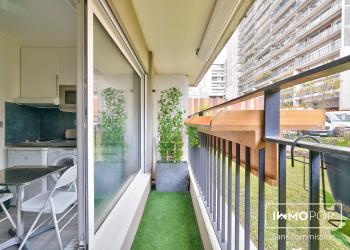 Appartement Type 1 meublé de 12 m² à Paris 11 ème