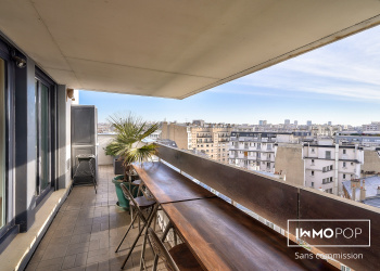 Appartement Type 2 de 42 m² + terrasse+ parking + cave à Paris 12ème
