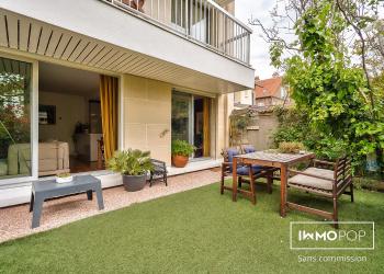 Appartement Type 4 de 84 m² + jardin + 2 parkings + cave à La Garenne-Colombes