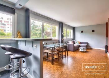 Appartement Type 2 de 39 m² + cave à Paris 12ème