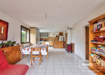 Maison Type 6 de 160 m² à Saint Jory avec terrain 909m²