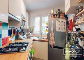 Appartement Type 3 de 47 m² à Paris 20 ème