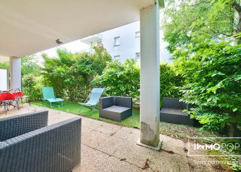 Appartement type 1 de 38 m² + JARDIN de 33 m² + parking à Mantes-la-Jolie
