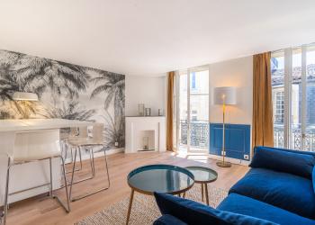 Appartement Meublé T2 très lumineux, refait à neuf proche place saint michel/Quai