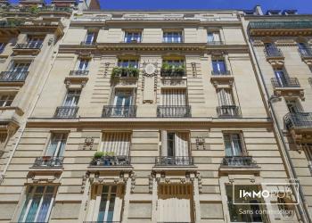 Appartement meublé type 1 de 30 m² à Paris 17 ème