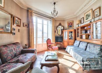 Appartement Type 3 de 55 m² (+ possibilité chambre de service 9m²) à Levallois-Perret